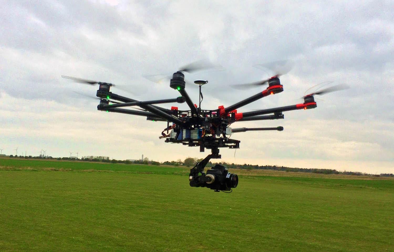 snimanje iz zraka dron dji 1000