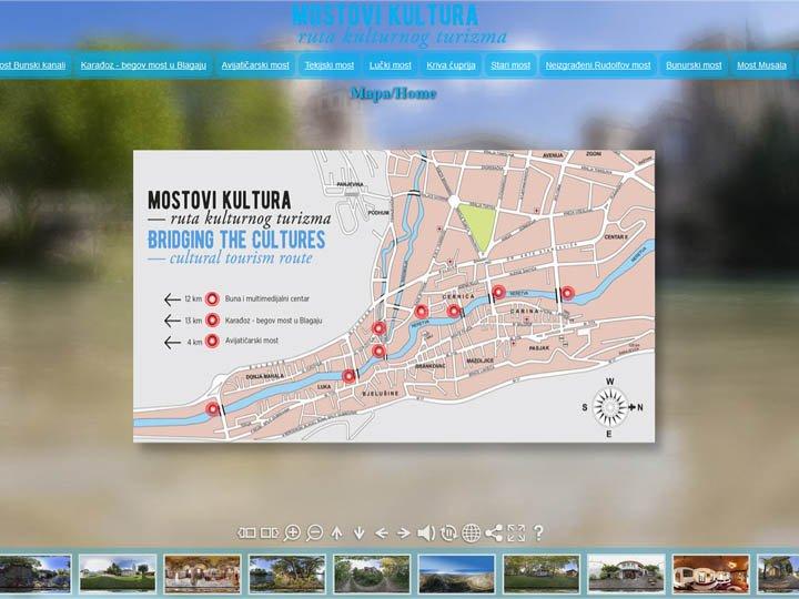 mostovi kultura virtual tour mostar