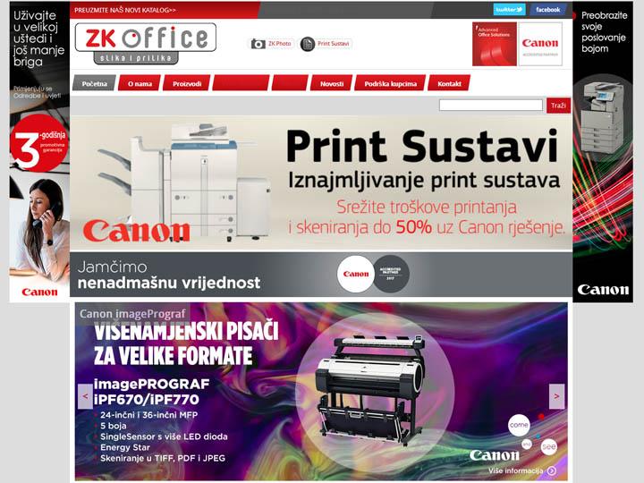 zk office mostar izrada web stranice