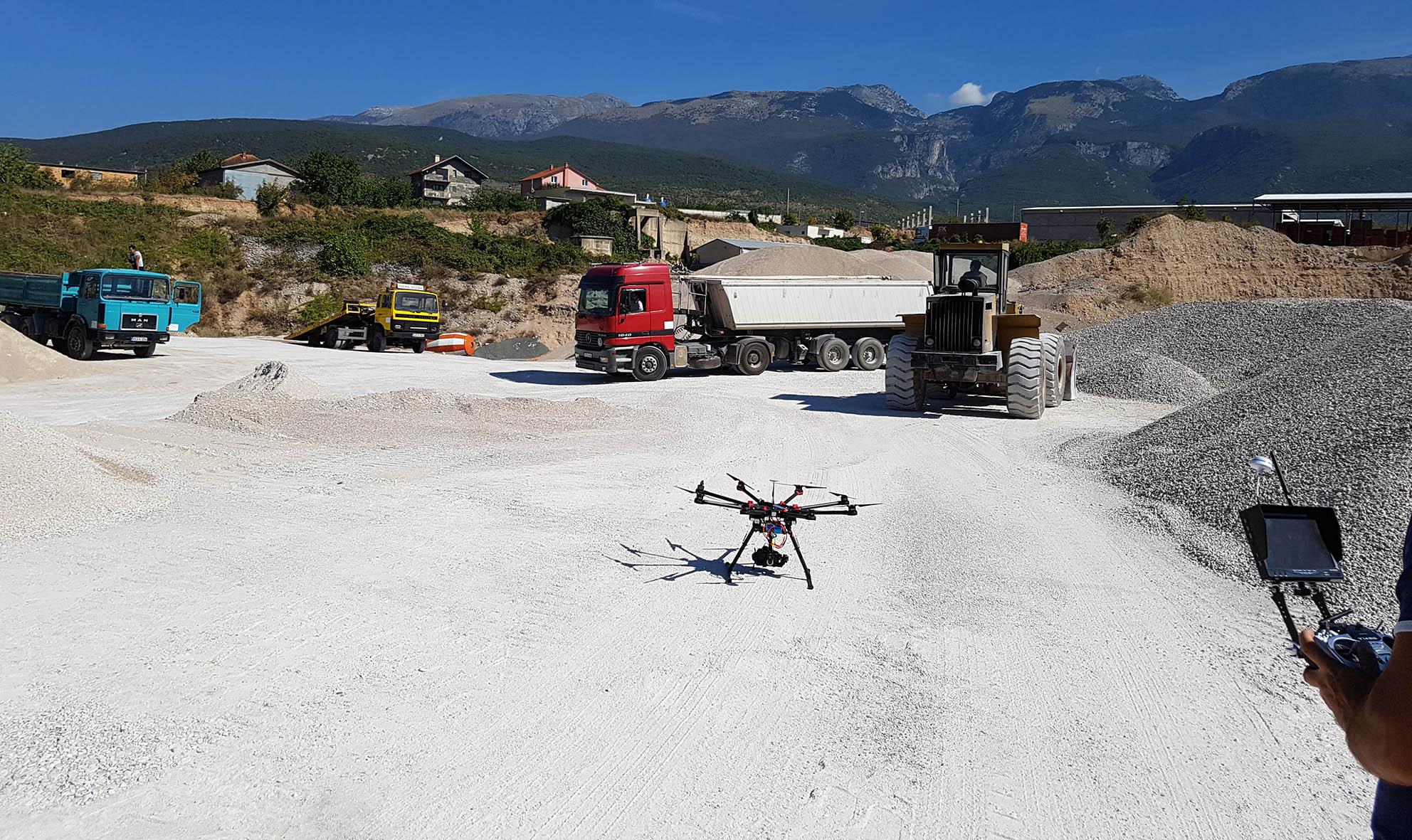 snimanje iz zraka profesionalni dron