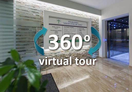 virtualna setnja poliklinika saric mostar