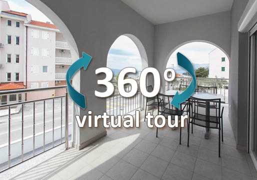 virtual tour villa klara baska voda